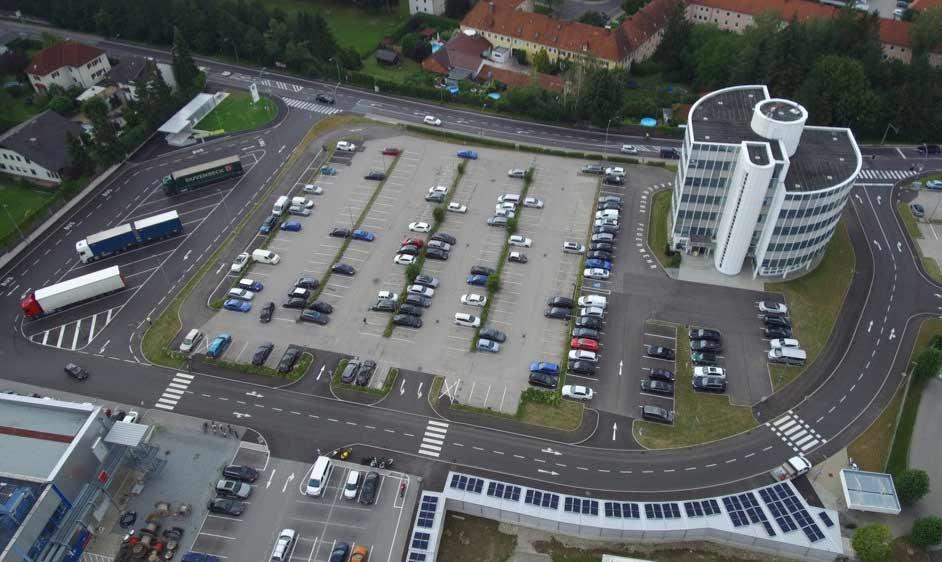 Verkehrsorganisation - BMW Steyr Tor 1