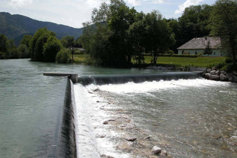 Wasserbau - Wehrkraftwerk Geyerhammer / Alm