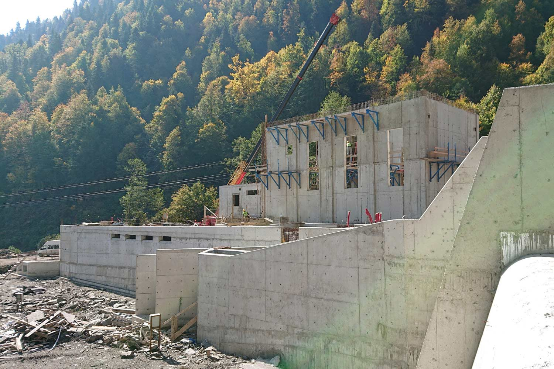Wasserbau - KWLakhami, Fluss Lakhami