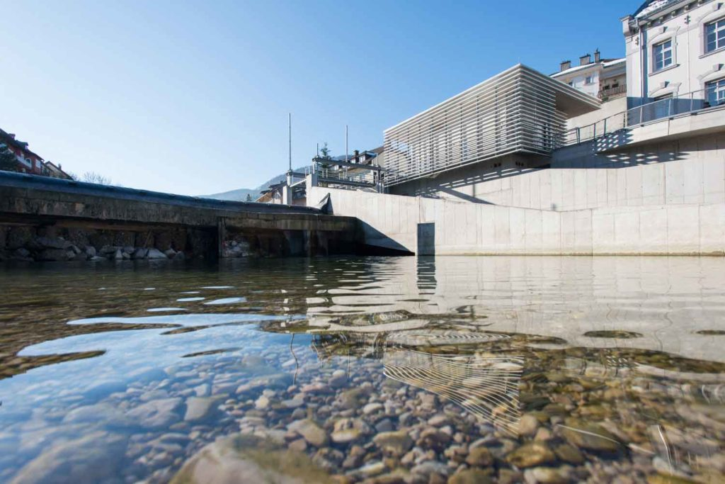 Wasserbau - Ejektorkraftwerk Waidhofen